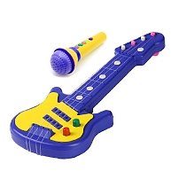 Toy Guitar & Microphone Set
